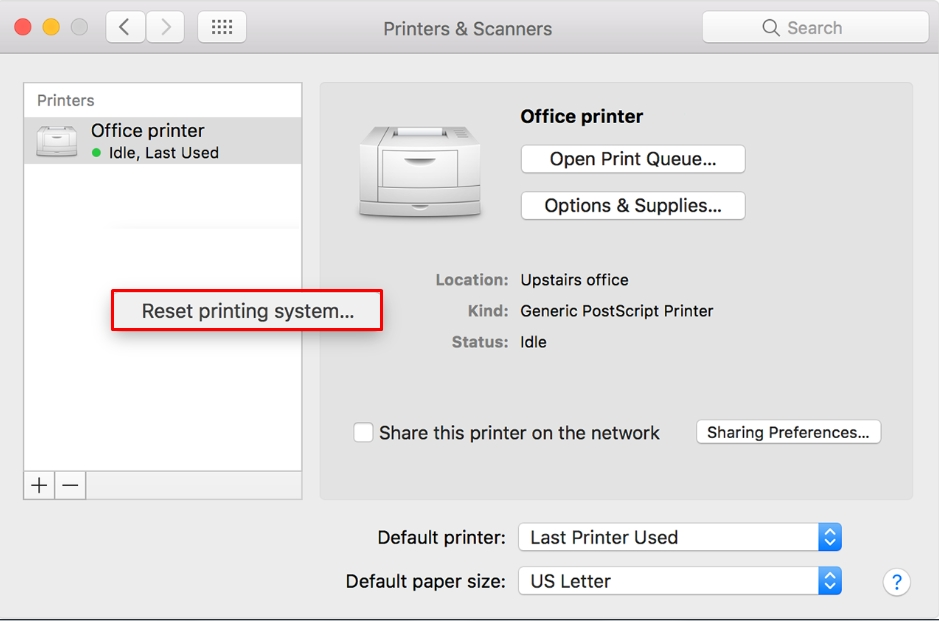 How to Fix the Printer Offline Error on a Mac - How to Fix