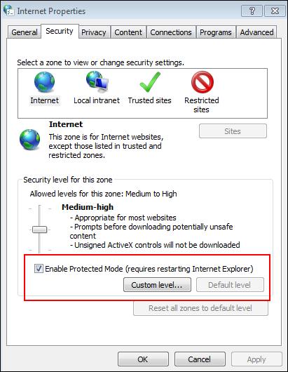 Internet Properties