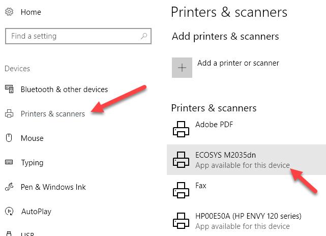 Printer Devices